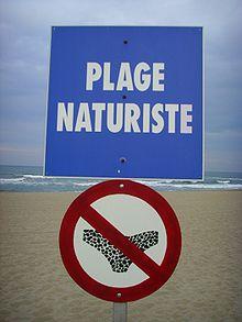 220px Sign Nudist area 08 01 - Натуризм как он есть